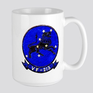 VF 213 Black Lions Large Mug
