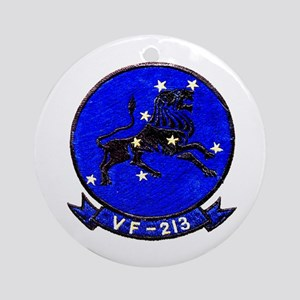 VF-213 Black Lions Ornament (Round)