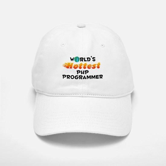World's Hottest PHP P.. (C) Baseball Baseball Cap