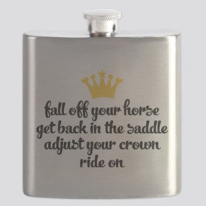 fall off your horse Flask