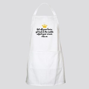 fall off your horse Light Apron