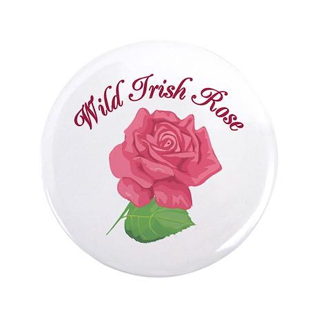 "Wild Irish Rose 3.5"" Button (100 pack)"