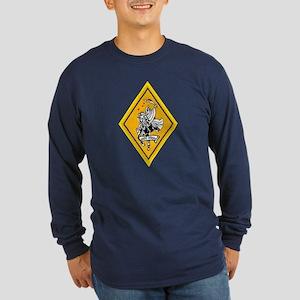 VF 142 Ghost Riders Long Sleeve Dark T-Shirt