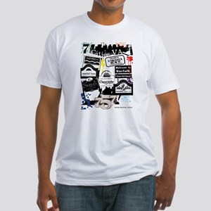 7 Cities Fitted T-Shirt