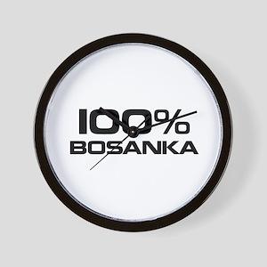 100% Bosanka Wall Clock