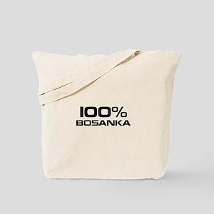 100% Bosanka Tote Bag