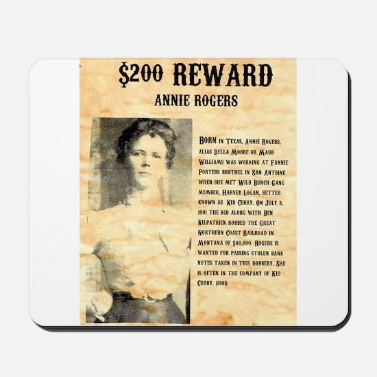 Annie Rogers $ Reward Mousepad