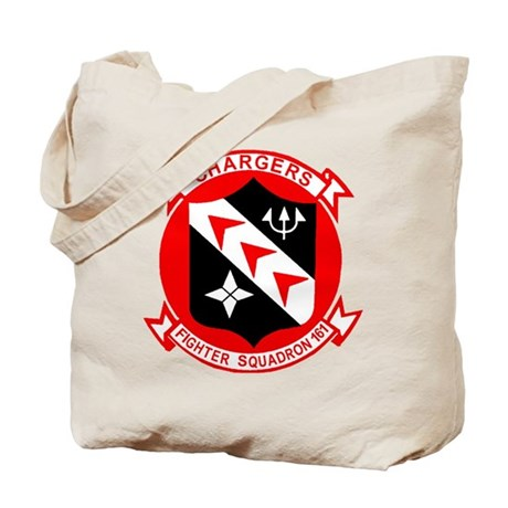 VF 161 Chargers Tote Bag