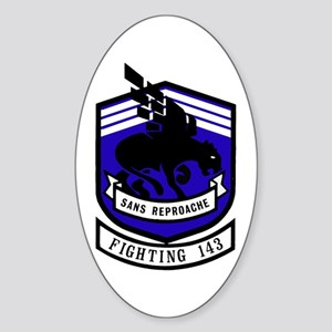VF 143 / VFA 143 Puking Dogs Oval Sticker