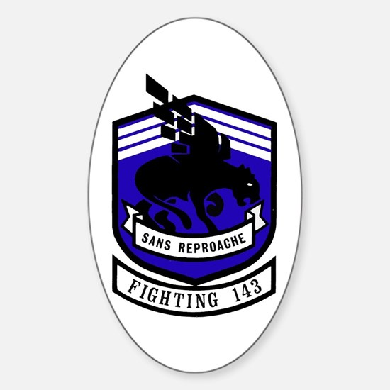 VF 143 / VFA 143 Puking Dogs Oval Decal