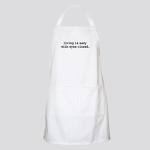 living is easy with eyes closed. BBQ Apron
