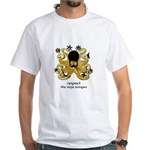 Ninja Octopus White T-Shirt