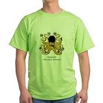 Ninja Octopus Green T-Shirt