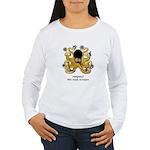 Ninja Octopus Women's Long Sleeve T-Shirt