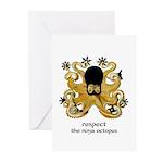 Ninja Octopus Greeting Cards (Pk of 10)