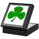 Sexy Irish Lady Keepsake Box