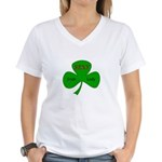 Sexy Irish Lady Women's V-Neck T-Shirt