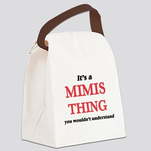 It's a Mimis thing, you would Canvas Lunch Bag