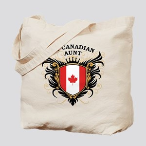 Number One Canadian Aunt Tote Bag