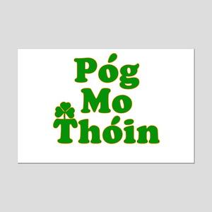 Pog Mo Thoin Kiss My Ass Mini Poster Print