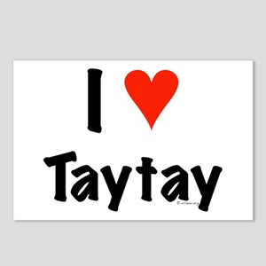 I love TayTay Postcards (Package of 8)