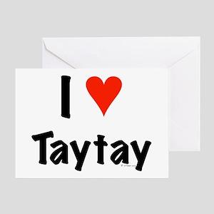I love TayTay Greeting Card
