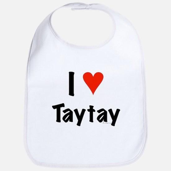 I love TayTay Bib