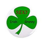 "Sexy Irish Granny 3.5"" Button (100 pack)"