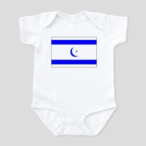 Islamic Israeli Flag Infant Creeper