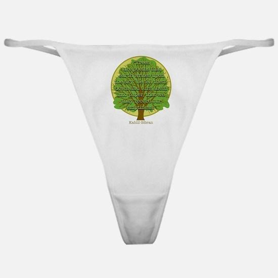 Tree Wisdom Classic Thong
