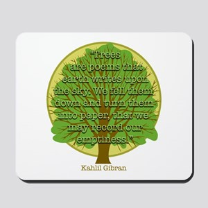 Tree Wisdom Mousepad