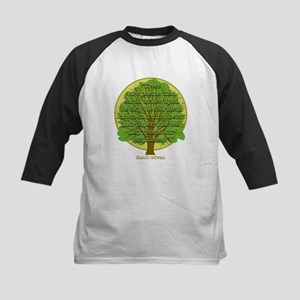 Tree Wisdom Kids Baseball Jersey