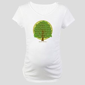 Tree Wisdom Maternity T-Shirt