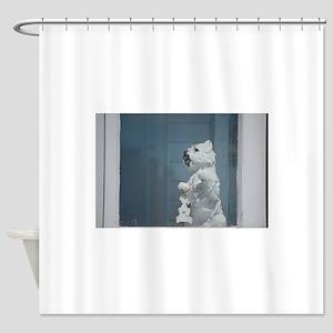 Westie Shower Curtain