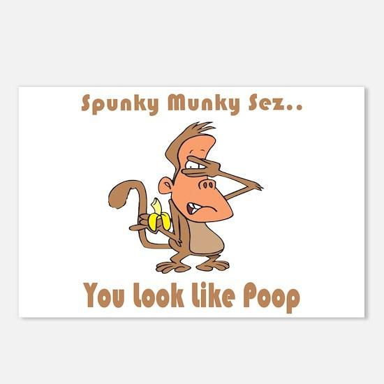 You Look Like Poop Postcards (Package of 8)