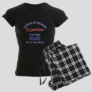 Drum is my religion Women's Dark Pajamas