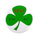 "Sexy Irish Girl 3.5"" Button (100 pack)"
