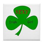 Sexy Irish Girl Tile Coaster
