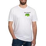 Got Hops? Fitted T-Shirt