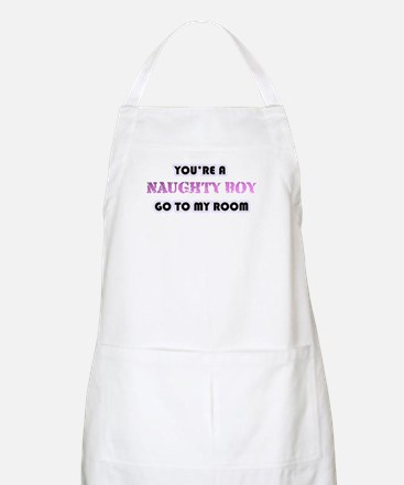 Your A Naughty Boy BBQ Apron