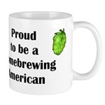 Proud to be a Homebrewing... Mug