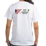 Proud to be a Homebrewing... White T-Shirt