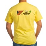 Proud to be a Homebrewing... Yellow T-Shirt