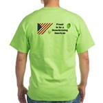 Proud to be a Homebrewing... Green T-Shirt