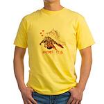 Hermit Crab Yellow T-Shirt