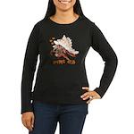 Hermit Crab Women's Long Sleeve Dark T-Shirt