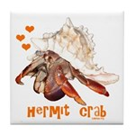 Hermit Crab Tile Coaster