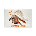 Hermit Crab Rectangle Magnet (100 pack)