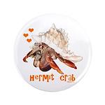 """Hermit Crab 3.5"""" Button (100 pack)"""