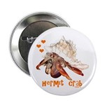 """Hermit Crab 2.25"""" Button (100 pack)"""